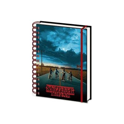 Stranger things lenticular notebook a5 wiro mind flayer