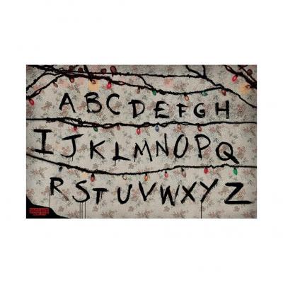 Stranger things letters poster 61x91cm