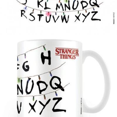 Stranger things lights mug 315ml
