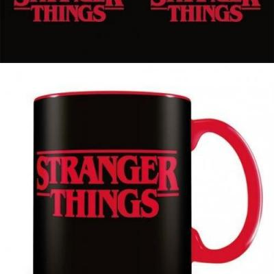Stranger things logo mug 315ml
