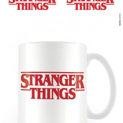 Stranger things logo mug blanc 315ml