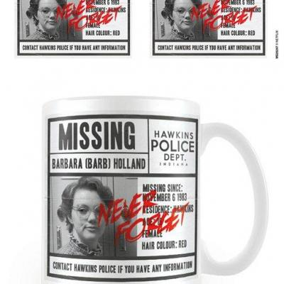 Stranger things missing barb mug 315ml