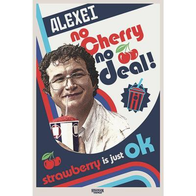 Stranger things no cherry no deal poster 61x91cm