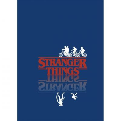 Stranger things plaid polaire 100 microfibre 70x140cm
