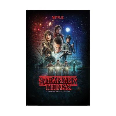 Stranger things poster 61x91 one sheet