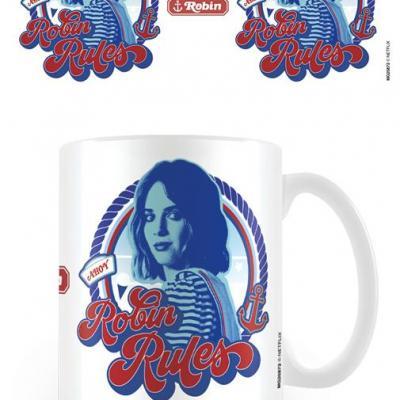 Stranger things robin rules mug 315ml