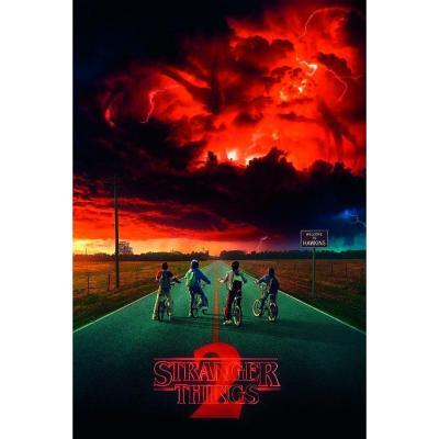 Stranger things s2 mind flayer poster 61x91cm