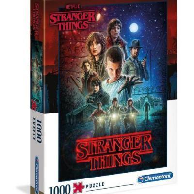 Stranger things season 1 puzzle 1000p