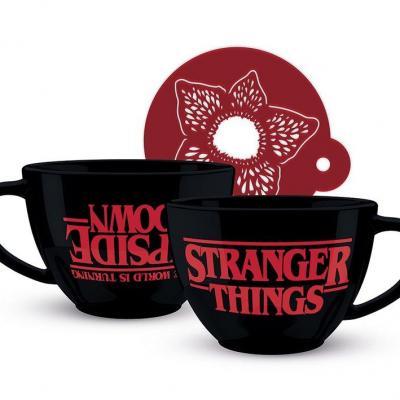 Stranger things upside down mug a cappuccino 630 ml