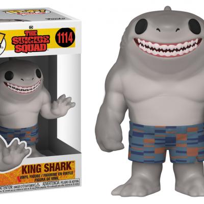 Suicide squad bobble head pop n 1114 king shark