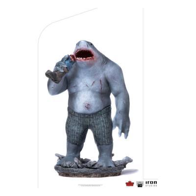 Suicide squad king shark statuette bds art scale 23x14x17cm
