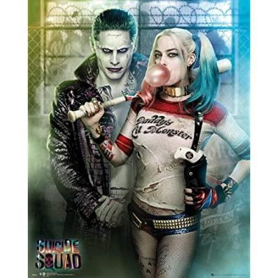 Suicide squad mini poster 40x50 joker harley quinn