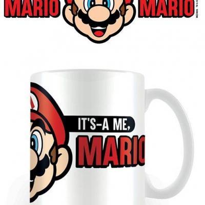 Super mario it as a me mario mug 315ml 1