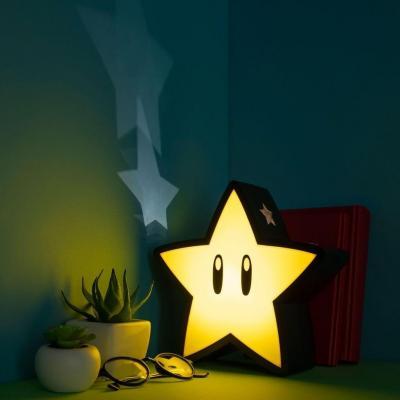 Super mario super star lampe decorative usb