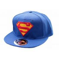 Superman casquette classic logo cap cobalt 2