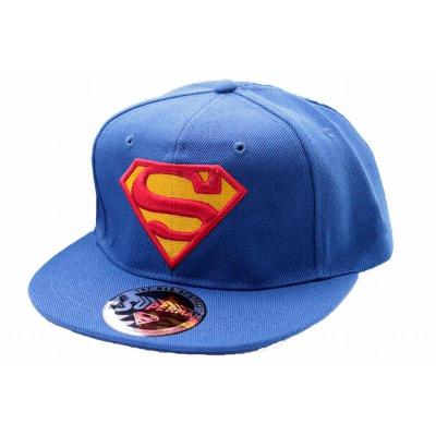 Superman casquette classic logo cap cobalt