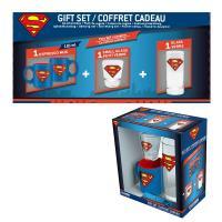 Superman coffret cadeau verre shooter mini mug 1