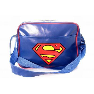 Superman messenger bag dc comics logo superman