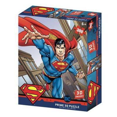 Superman puzzle lenticulaire 3d 300p 46x31cm