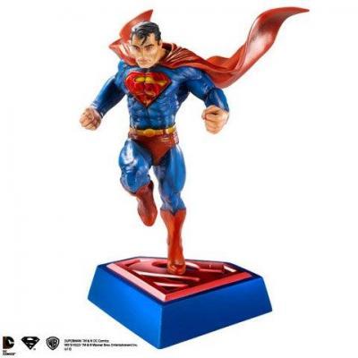 Superman sculture comic book