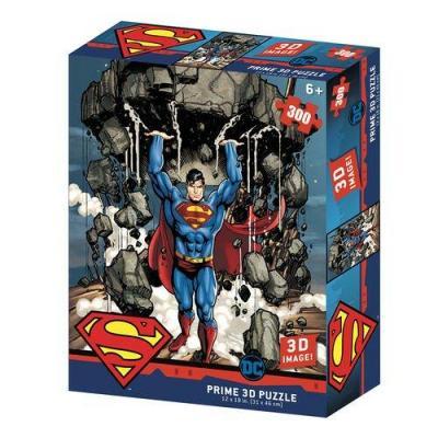 Superman super strength puzzle lenticulaire 3d 300p 46x31cm