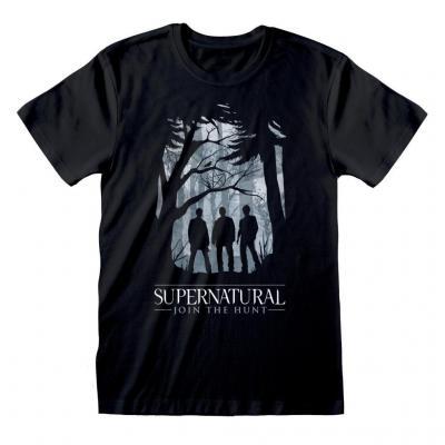 Supernatural t shirt silhouette