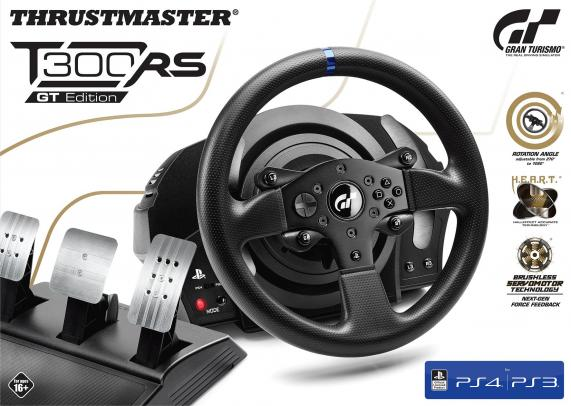 T300 rs gt racing wheel official sony