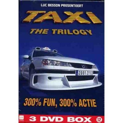 Taxi trilogy 3 dvd box occasion