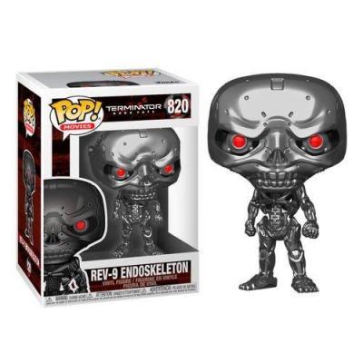 Terminator bobble head pop n 820 dark fate rev 9 9cm