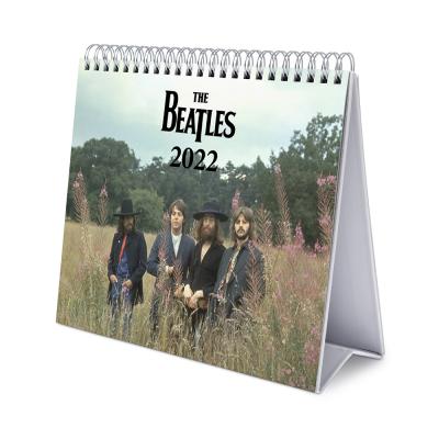 The beatles calendrier de bureau 2022 17x20cm