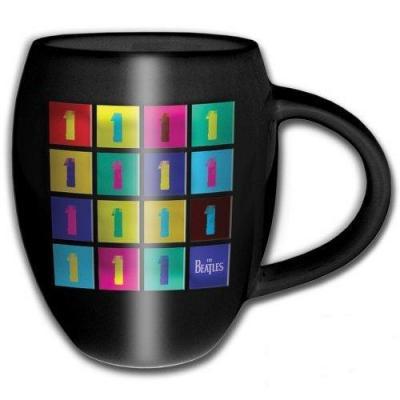 The beatles oval embossed mug 450 ml 1 album tiled