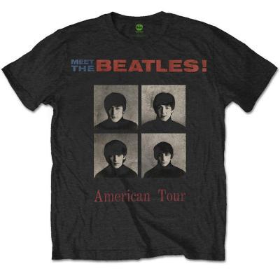 The beatles t shirt rwc american tour 1964