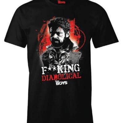 The boys fcking diabolical t shirt homme