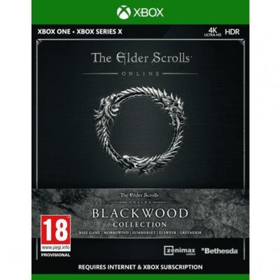 The elder scrolls online blackwood collection xbox one xbsx