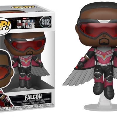 The falcon soldier bobble head pop n 812 falcon flying