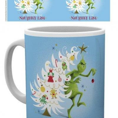 The grinch naughty list mug 315ml