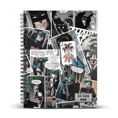 The joker comic cahier a4