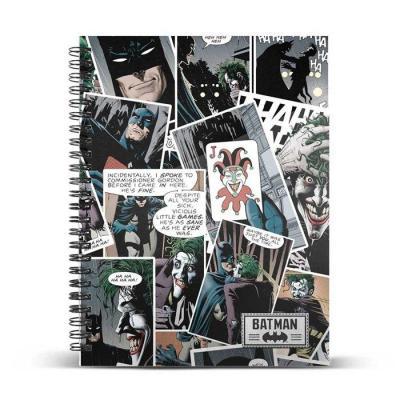 The joker comic cahier a5