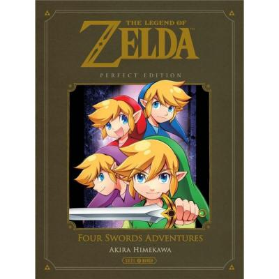 The legend of zelda four swords adventures perfect edition