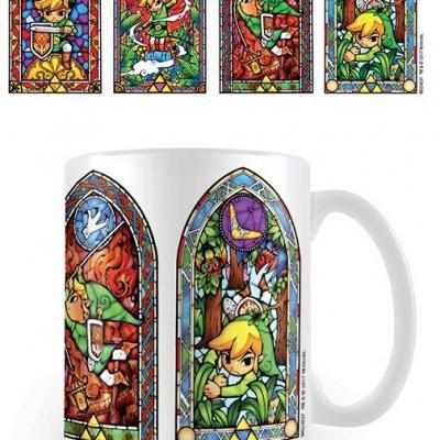 The legend of zelda mug 300 ml stained glass
