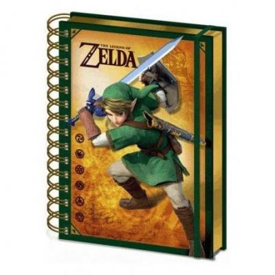 The legend of zelda notebook a5 llenticulaire 3d