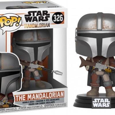 The mandalorian bobble head pop n 326 the mandalorian