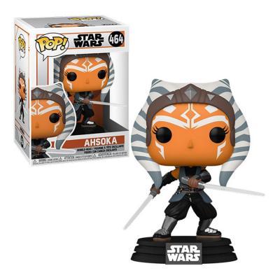 The mandalorian bobble head pop n xxx ahsoka w sabers