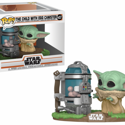 The mandalorian pop deluxe n 407 child w canister