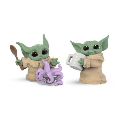 The mandalorian the child pack de 2 figurines bounty collection 2