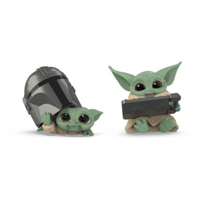 The mandalorian the child pack de 2 figurines bounty collection
