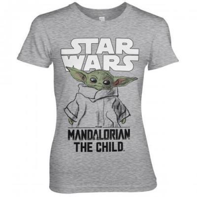 The mandalorian the child t shirt girl