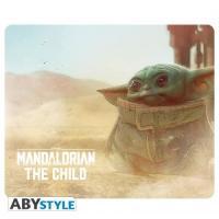 The mandalorian the child tapis de souris 23 5x19 5cm 1
