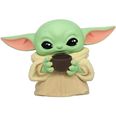 The mandalorian tirelire the child with cup 20cm