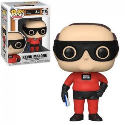 The office bobble head pop n 1175 kevin dunder mifflin superhero